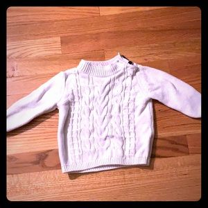 adorable knot baby gap sweater lightly worn